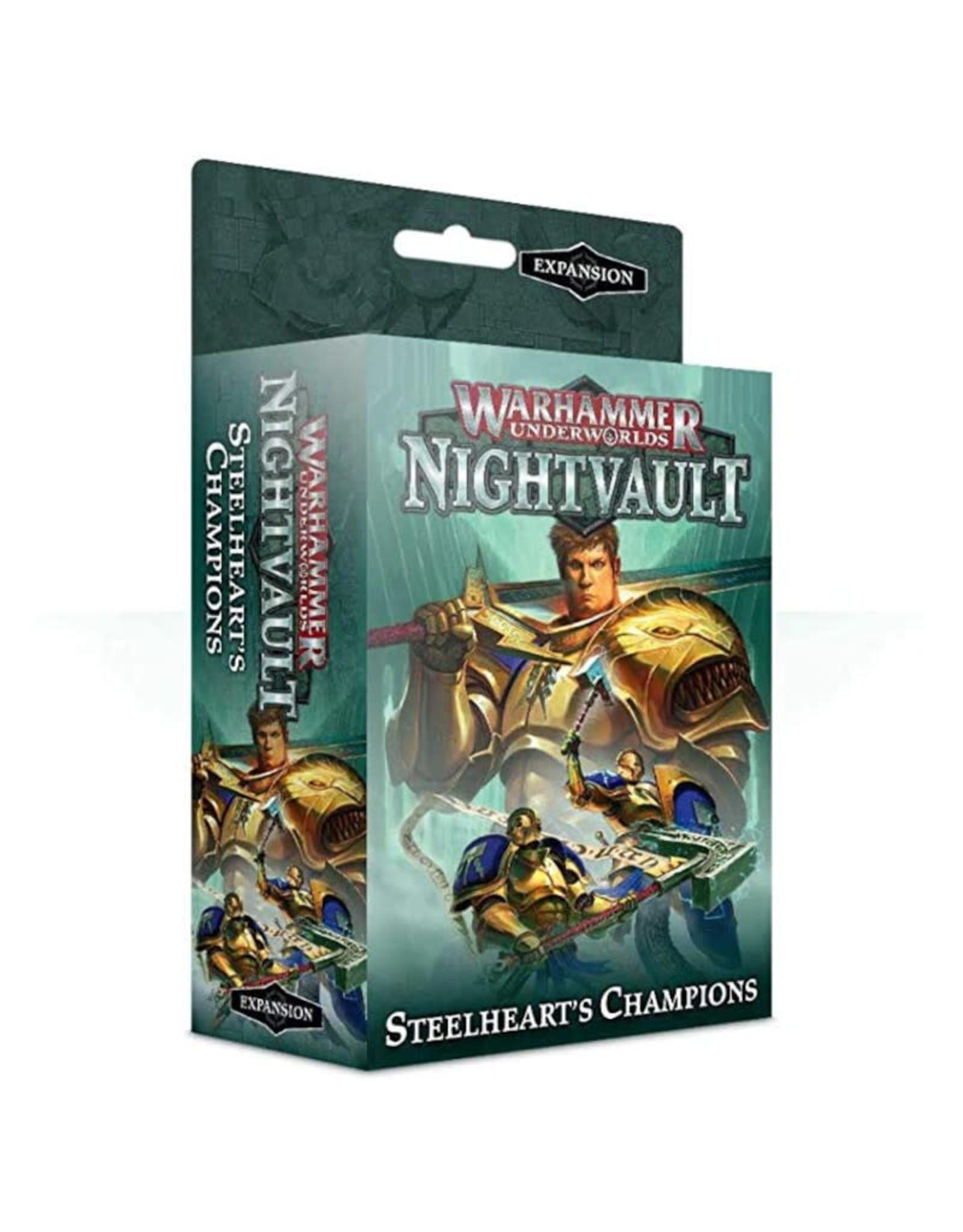 Games Workshop Warhammer Underworlds Steelhearts Champions