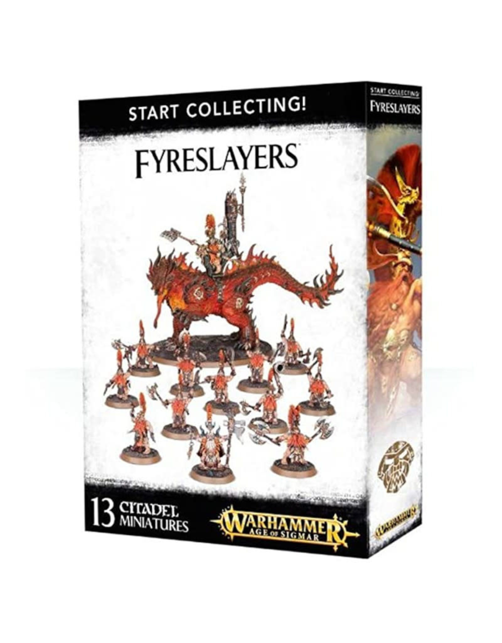 Games Workshop Warhammer Age Of Sigmar Start Collecting Fyreslayers