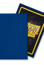 Arcane Tinmen Sleeves: Dragon Shield Matte (100) Blue