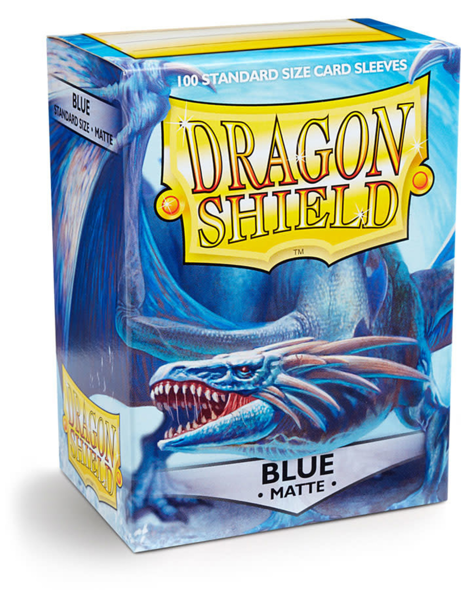 Arcane Tinmen Deck Protectors: Dragon Shield Matte (100) Blue