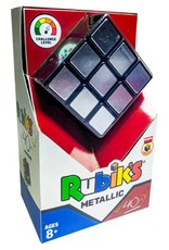 Winning Moves Rubik's 3x3 Metallic 40th Anniversary Edition