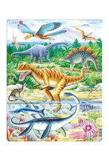 Springbok Jurassic Dinosaurs Puzzle 35 PC
