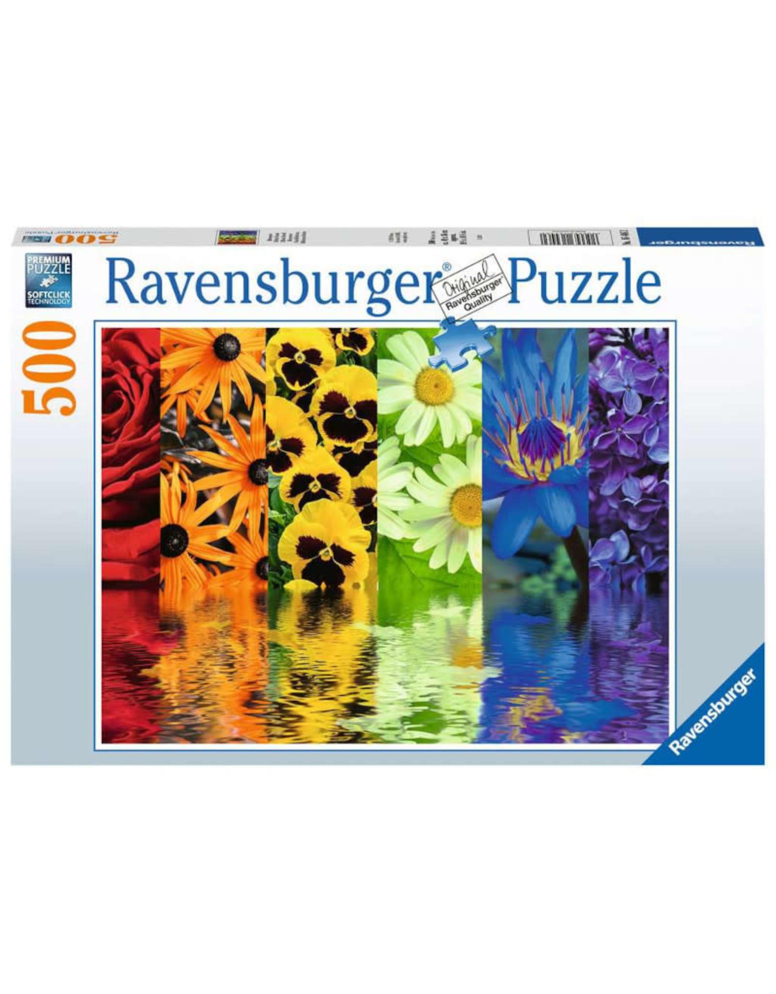 Ravensburger Floral Reflections Puzzle 500 PCS