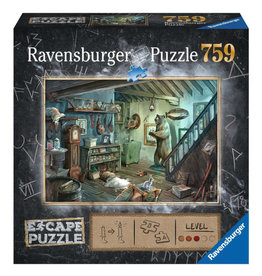 Ravensburger Forbidden Basement Escape Puzzle 759 PCS