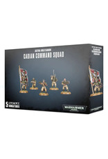 Games Workshop Warhammer 40K Astra Militarum Cadian Command Squad