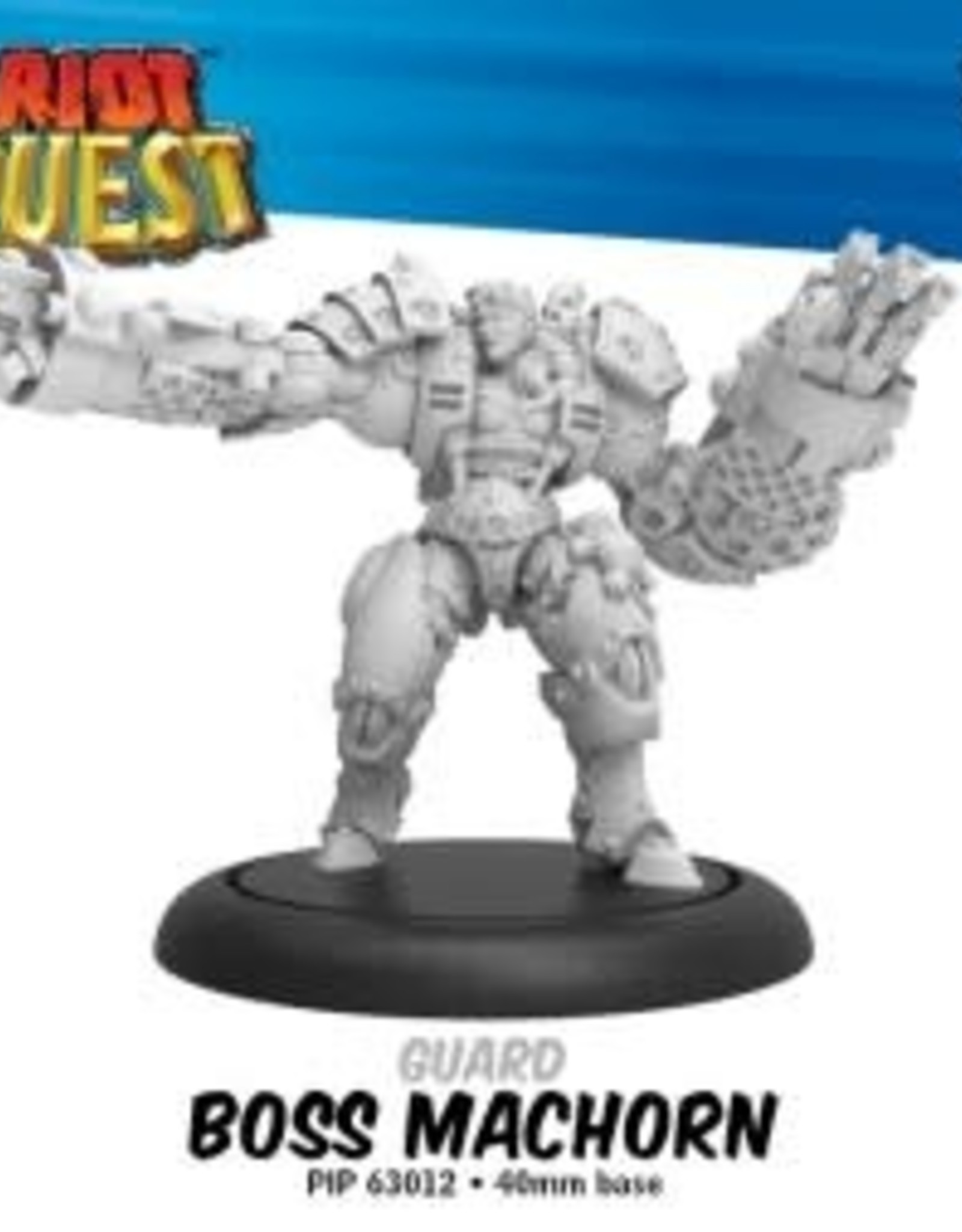 Privateer Press Riot Quest Boss Machorn