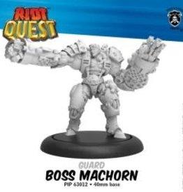Privateer Press Riot Quest Boss Machorn