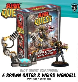 Privateer Press Riot Quest Spawn Gates and Weird Wendell