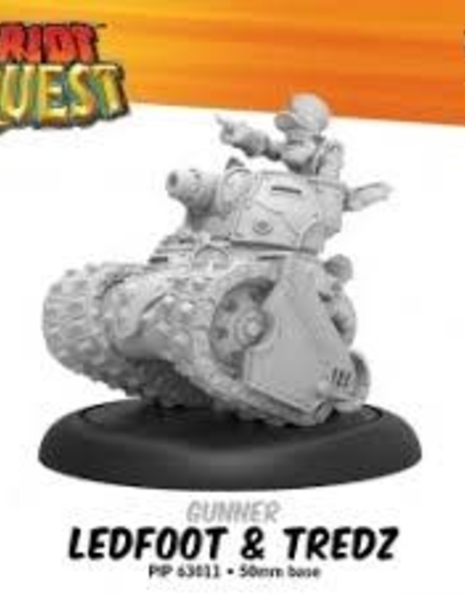 Privateer Press Riot Quest Ledfoot and Tredz