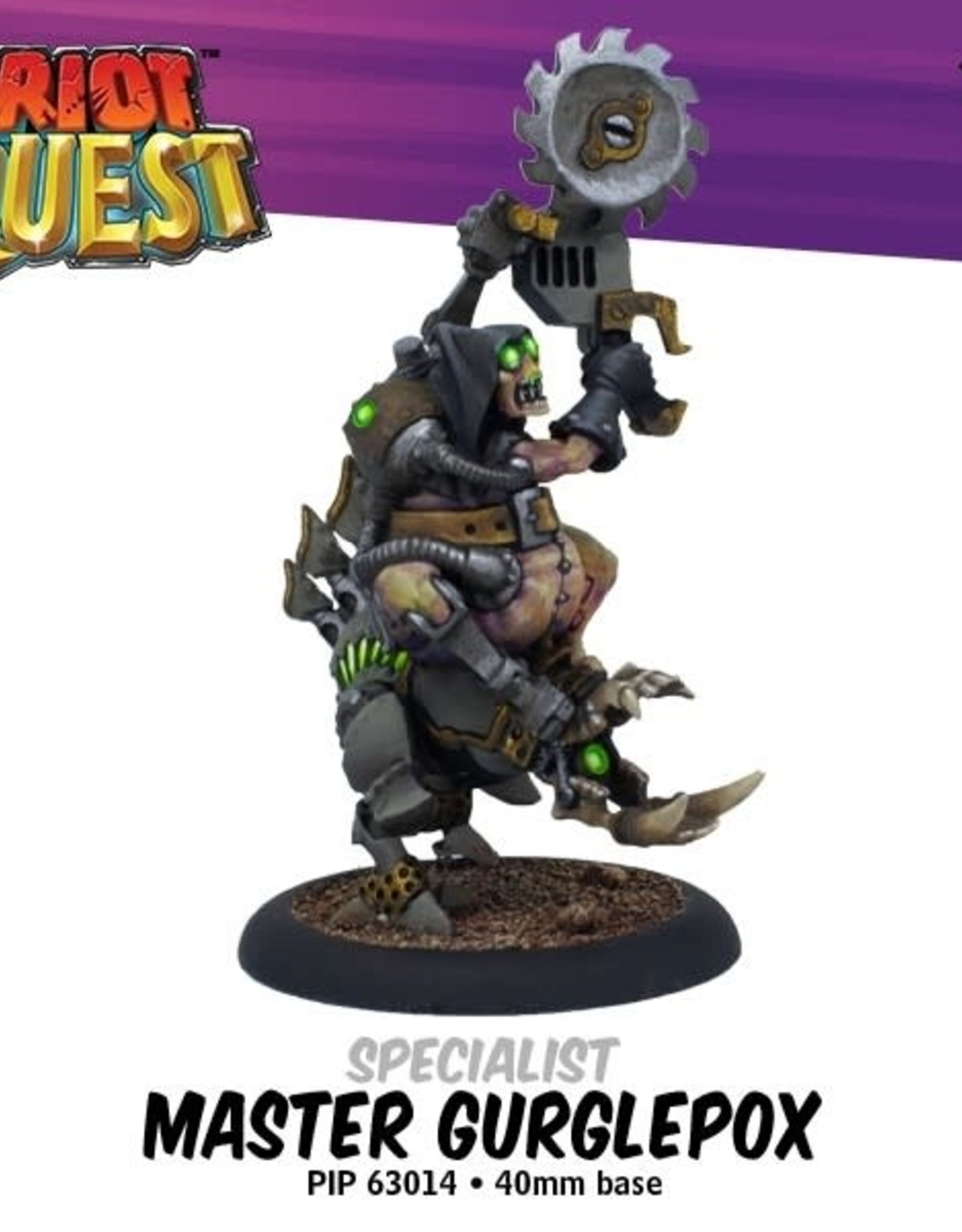 Privateer Press Riot Quest Master Gurglepox