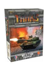 Gale Force 9 Tanks Modern Age Starter M1 vs T64