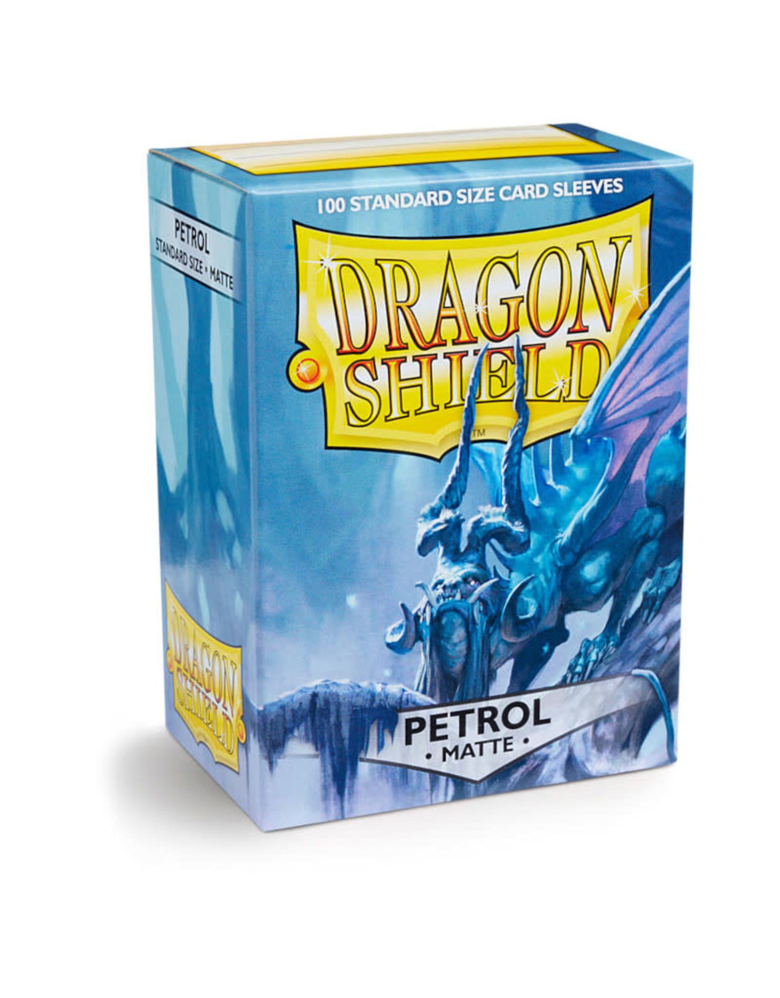 Arcane Tinmen Deck Protectors: Dragon Shield Matte (100) Petrol