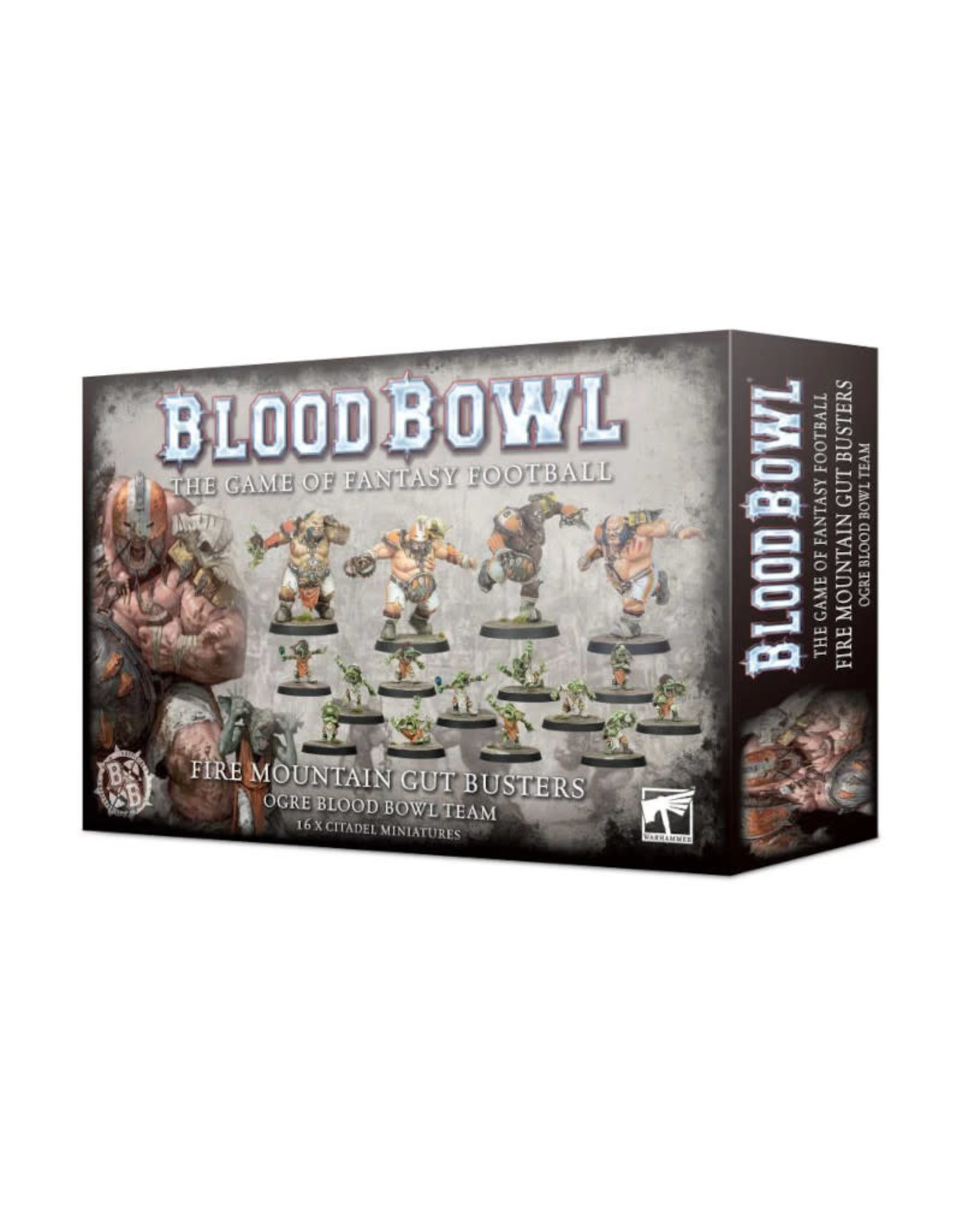 Games Workshop Blood Bowl Fire Mountain Gut Busters