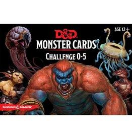Gale Force 9 D&D RPG: Monster Cards Challenge 0-5 Deck