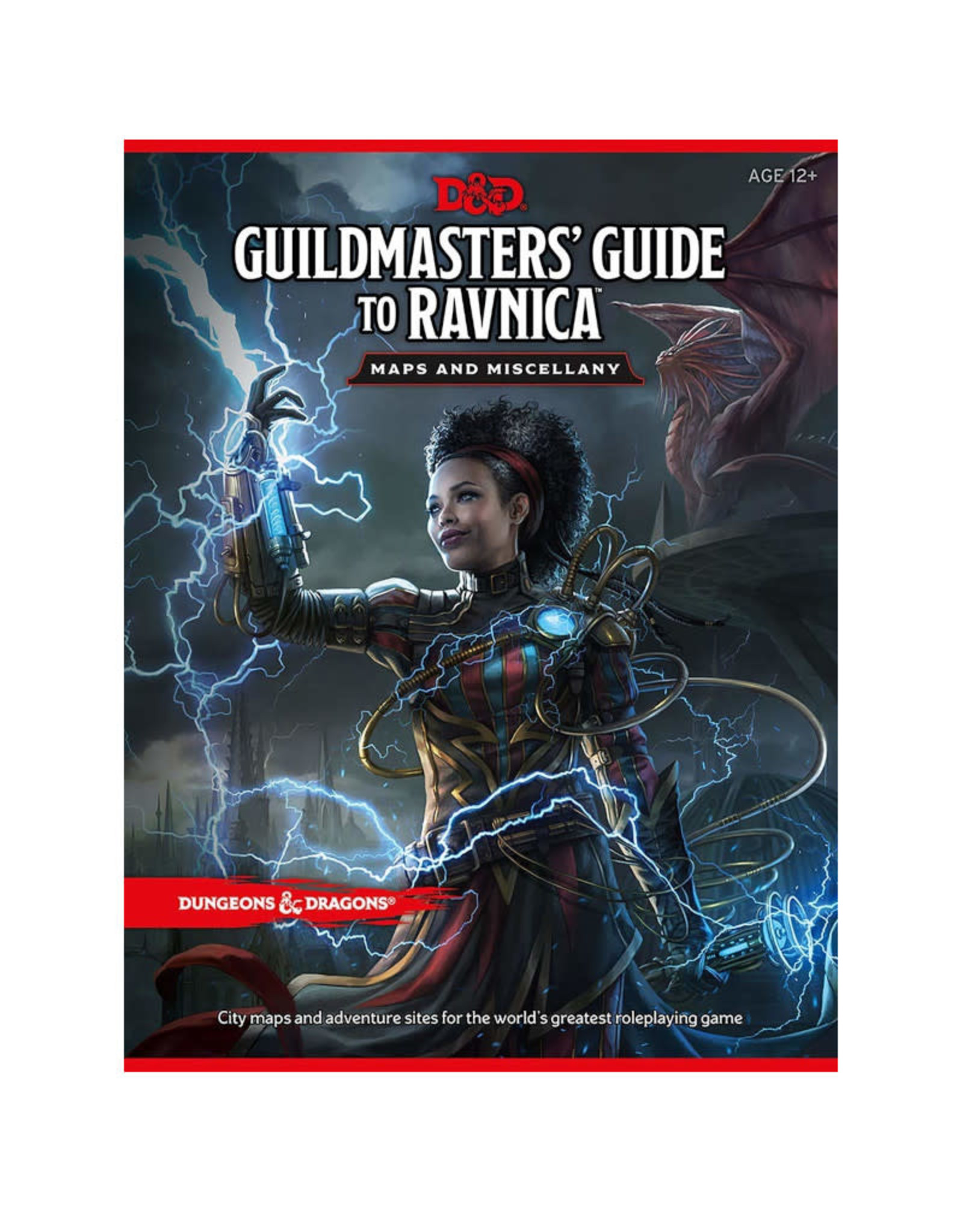 Wizards of the Coast D&D RPG: Guildmasters' Guide to Ravnica Maps and Miscellany