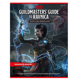 Wizards of the Coast D&D RPG Guildmasters Ravnica (MAP)