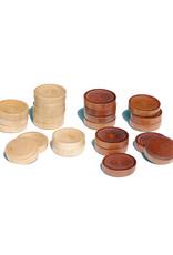 Checkers WE 12'' Walnut Natural Wood