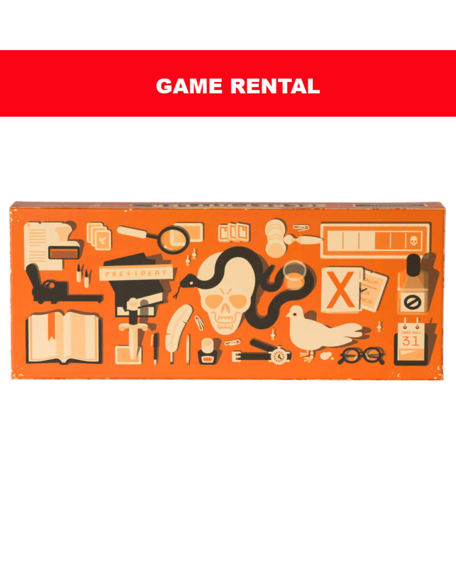 Breaking Games (RENT) Secret Hitler for a Day. Love It! Buy It!