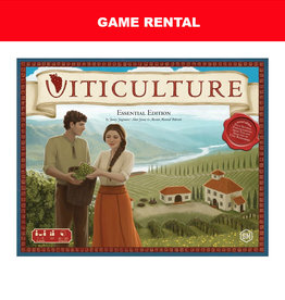 Stonemaier Games (RENT) Viticulture (includes Tuscany expansion) for a Day.  Love It! Buy It!