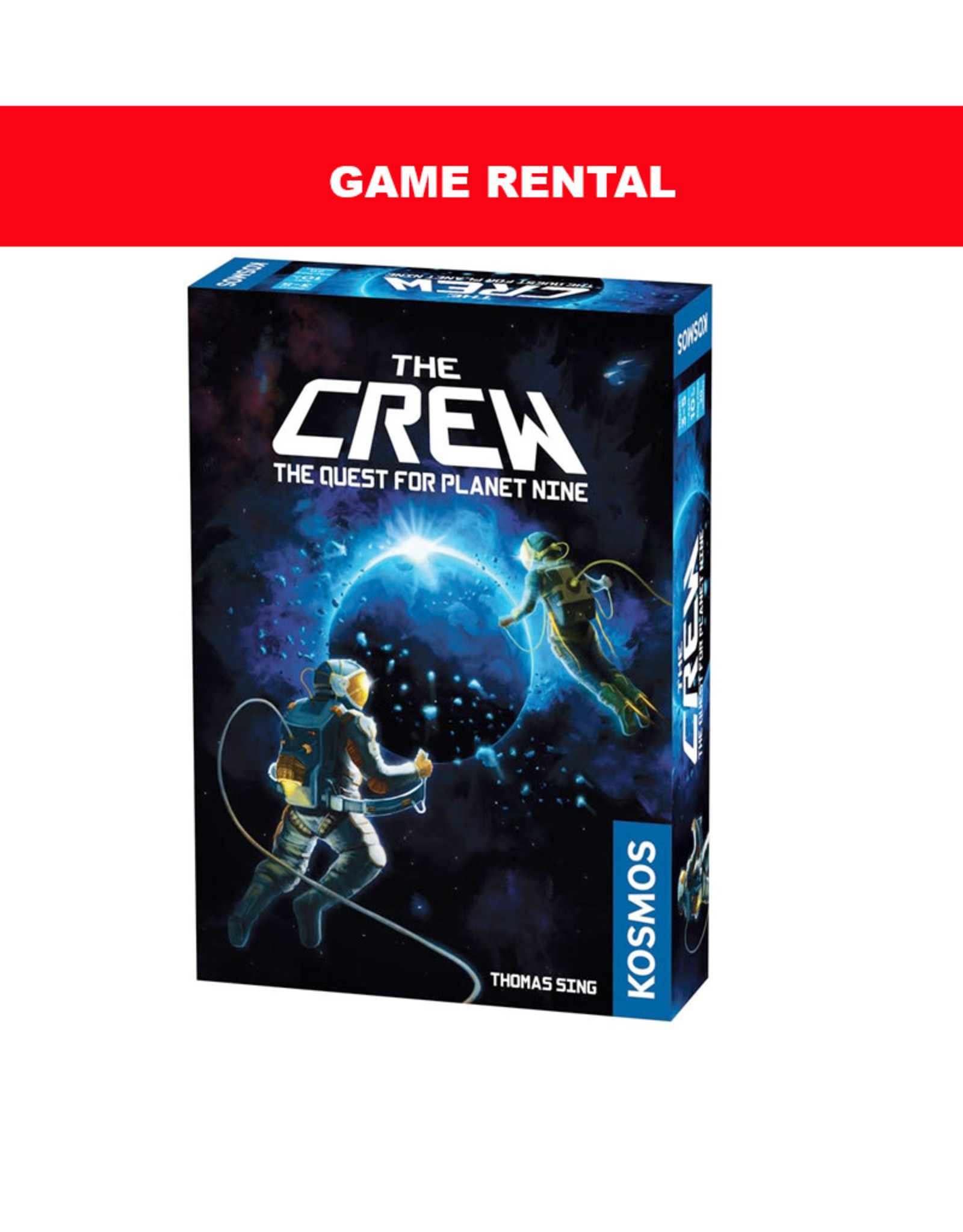 Thames and Kosmos (RENT) The Crew Quest for Planet Nine for a Day. Love It! Buy It!