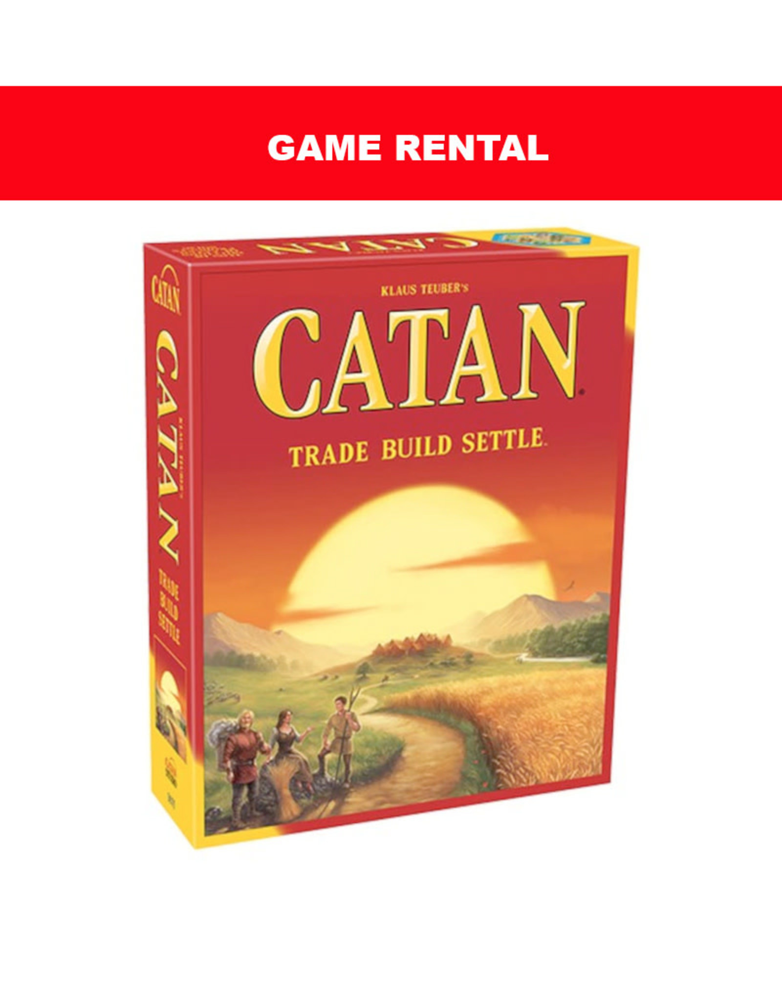 (RENT) Catan for a Day. Love it! Buy it!