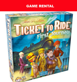 (RENT) Ticket to Ride First Journey (USA) for a Day. Love It! Buy It!