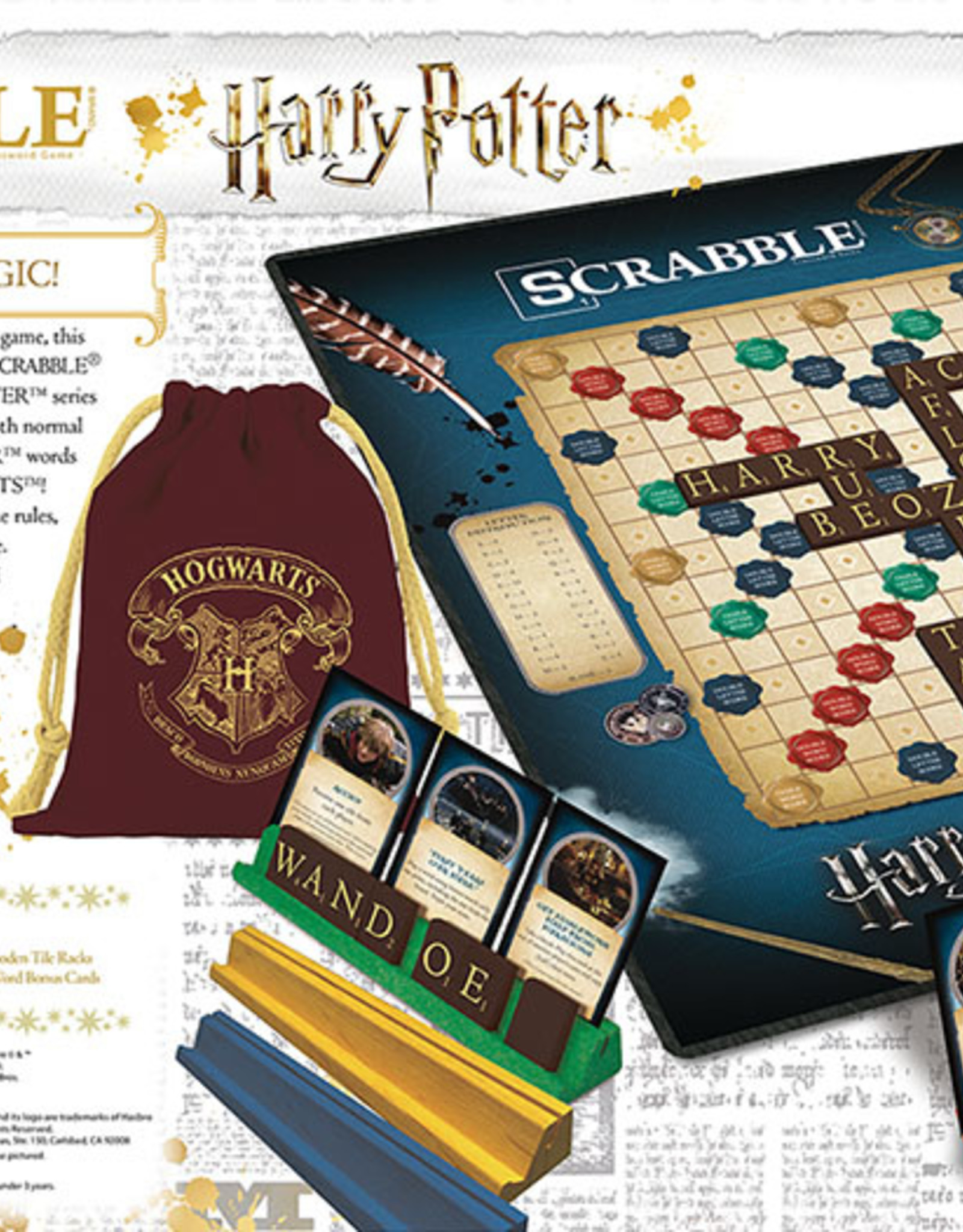 USAopoly Scrabble Harry Potter