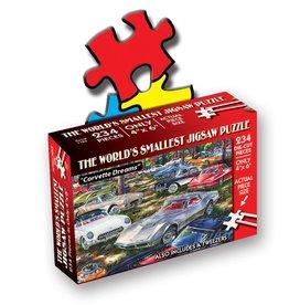 World's Smallest Jigsaw Puzzle: Corvette Dreams 234 PCS