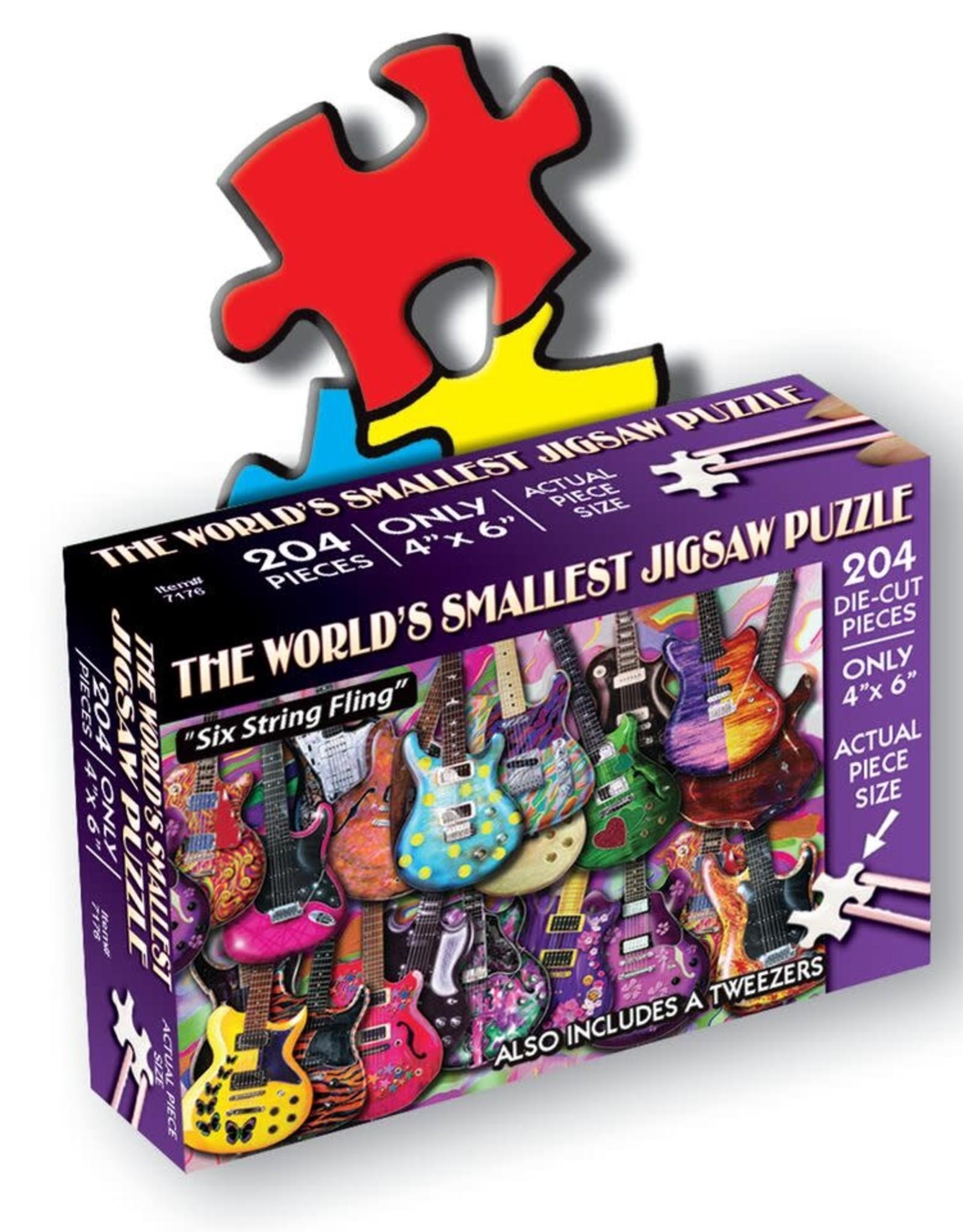World's Smallest Jigsaw Puzzle: Six String Fling 234 PCS