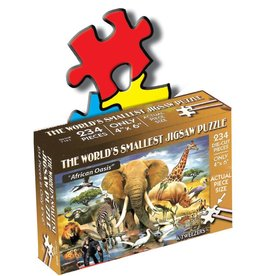 World's Smallest Jigsaw Puzzle: African Oasis 234 PCS