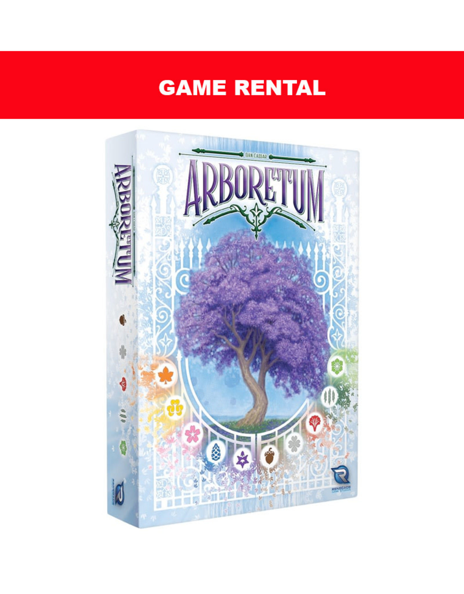 Renegade Games (RENT) Arboretum for a Day. Love It! Buy It!