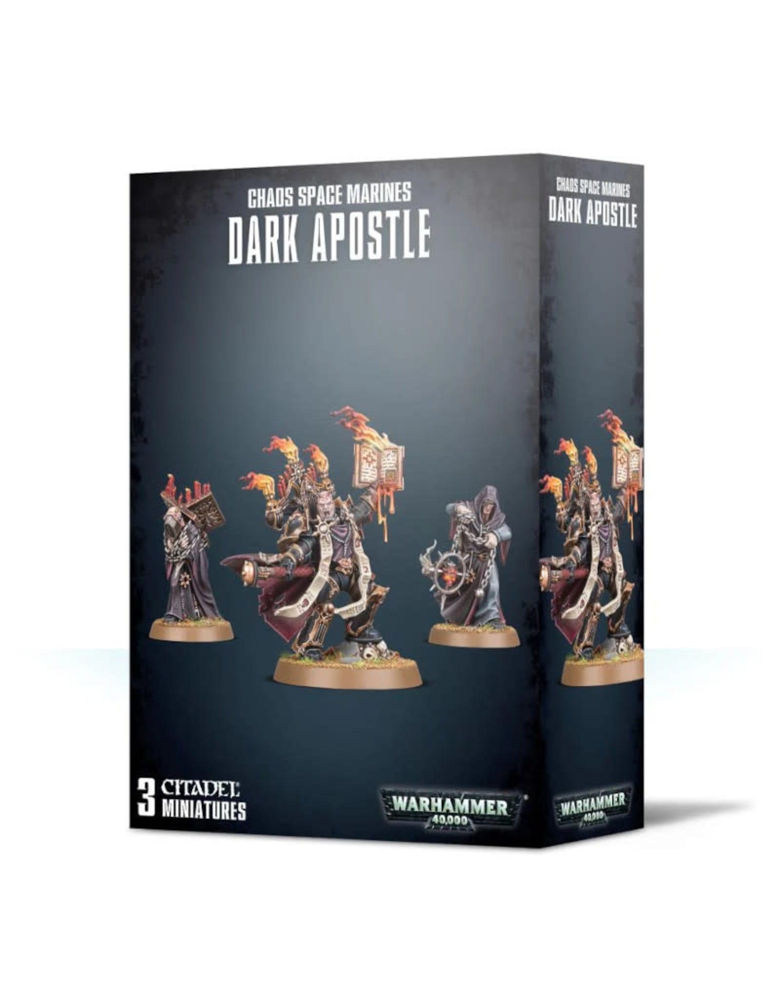 Games Workshop Warhammer 40K Chaos Space Marine Dark Apostle