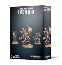 Games Workshop Warhammer 40K Chaos Space Marine Dark Apostle