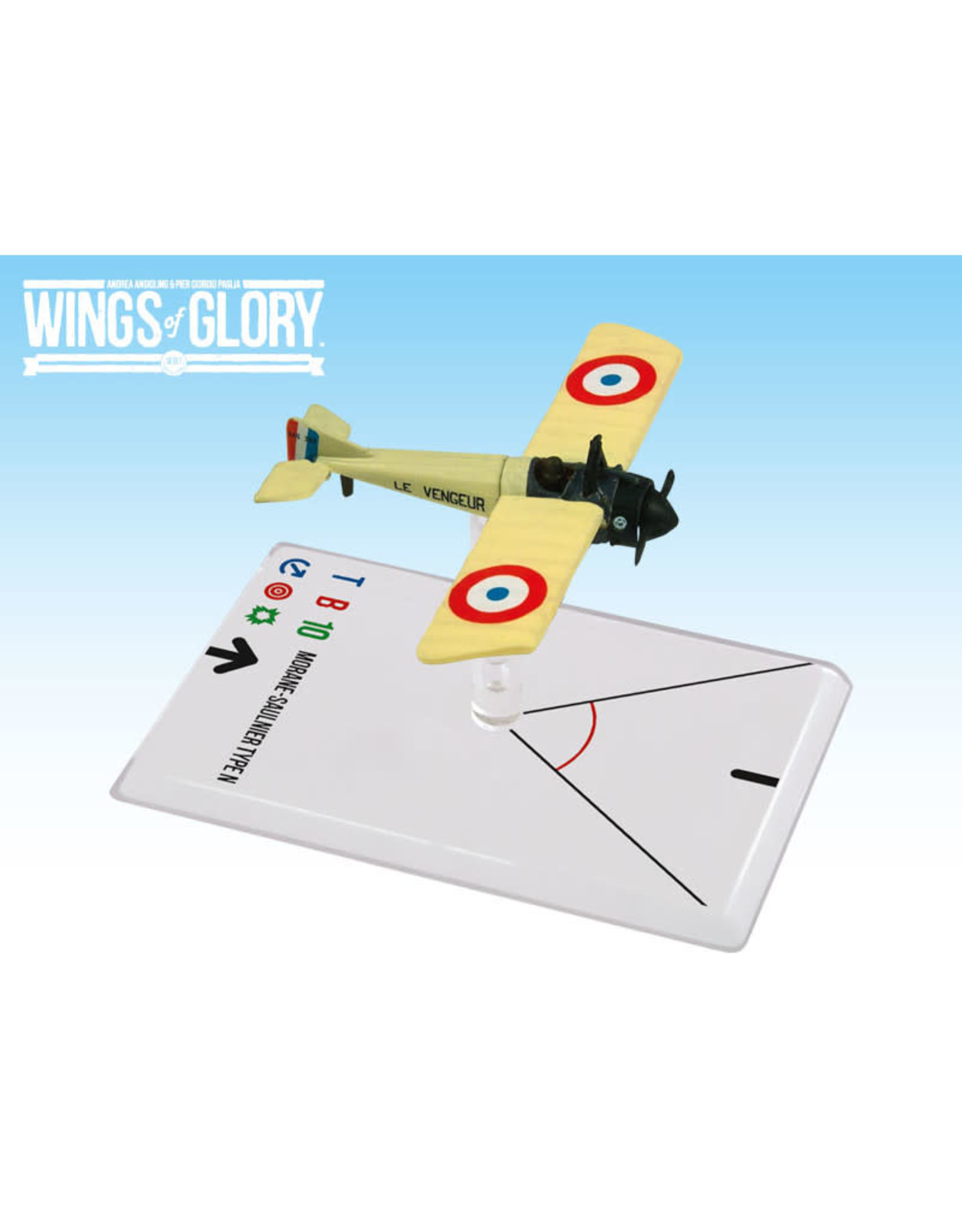 Ares Games Wings of Glory: WW1 Morane-Saulnier Type N (Gilber)