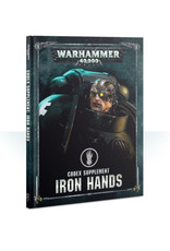 Games Workshop Warhammer 40K Codex Supplement Iron Hands