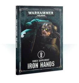 Games Workshop Warhammer 40K Codex Supplement Iron Hands