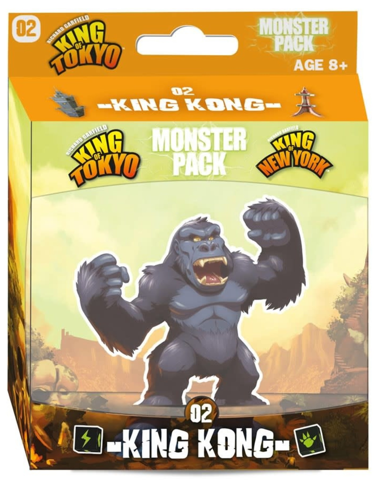 Iello King of Tokyo Monster Pack #2 King Kong