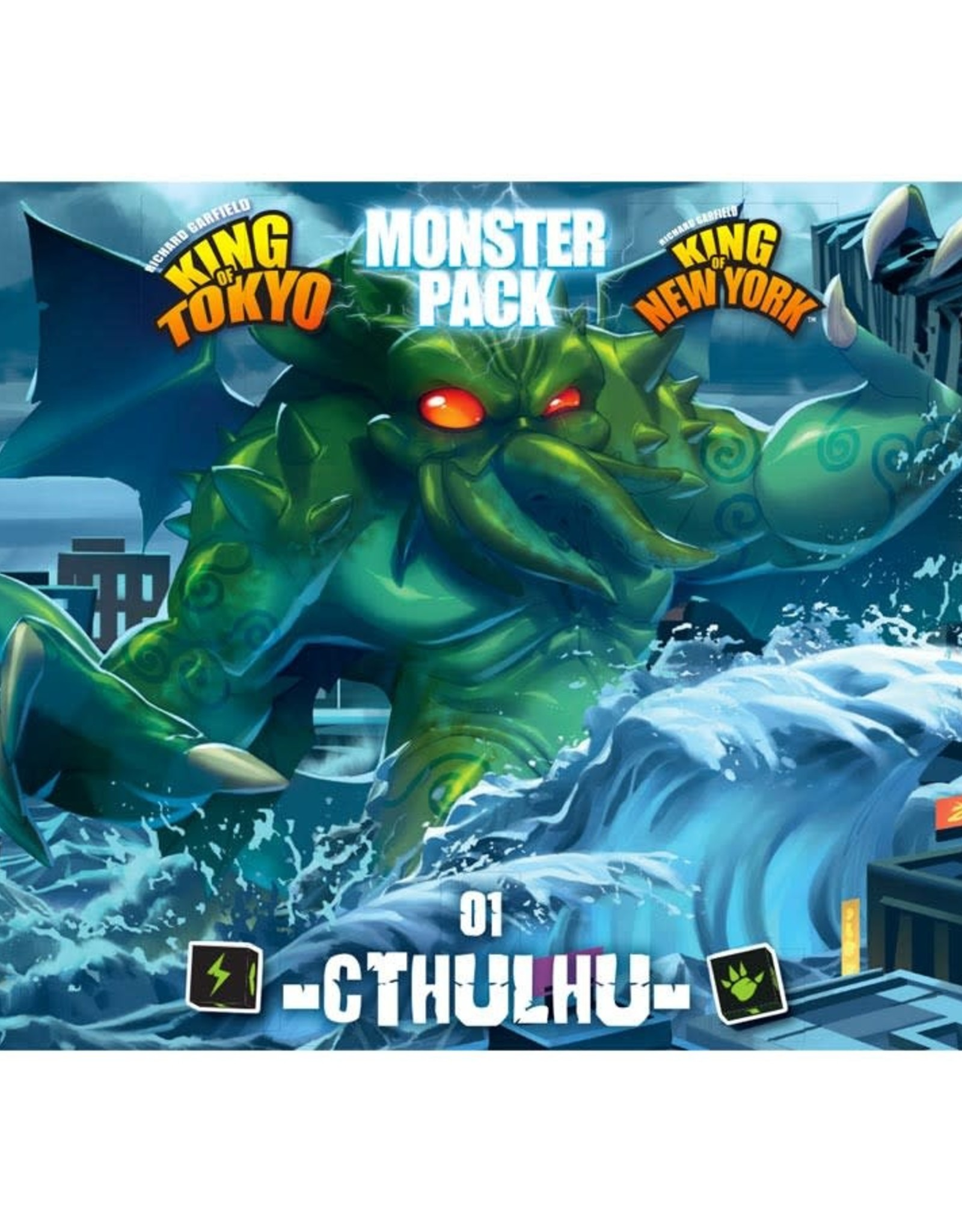Iello King of Tokyo: Monster Pack #1 Cthulhu