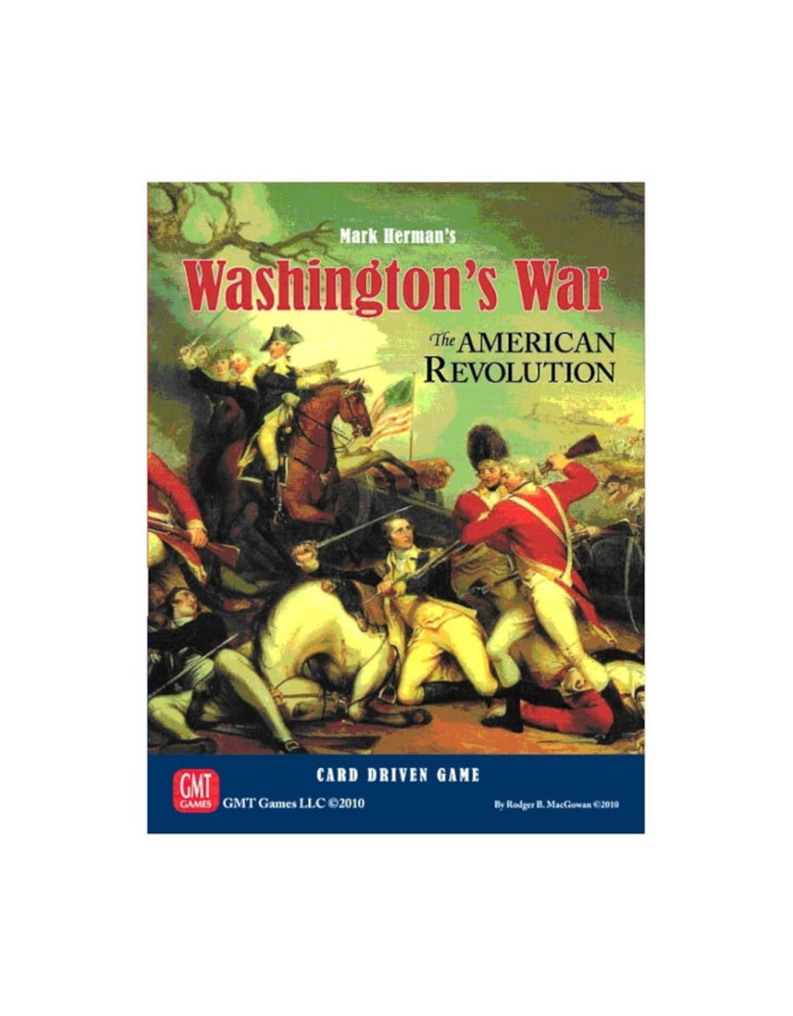 GMT Games Washington's War: The American Revolution