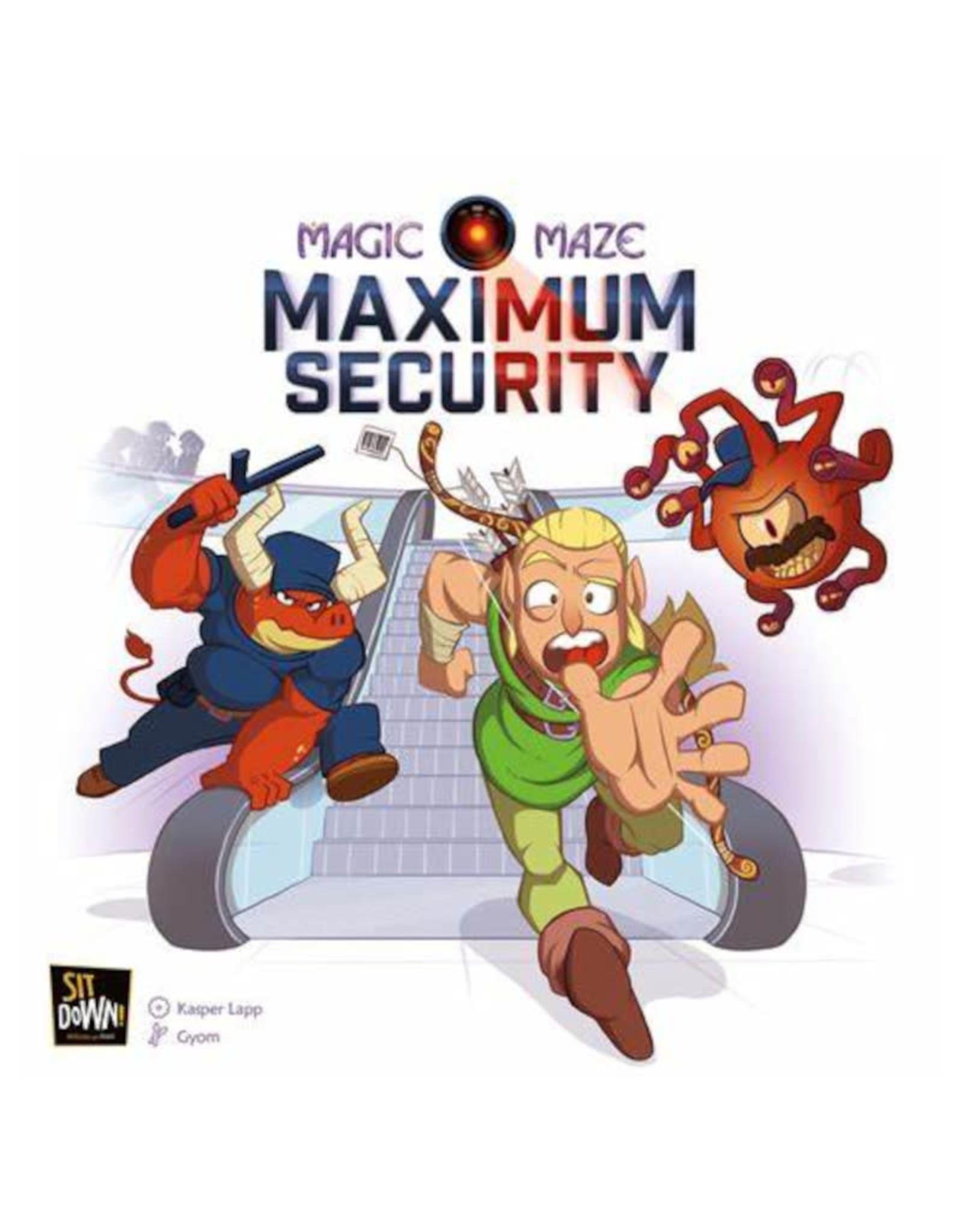 Dude Games Magic Maze Maximum Security