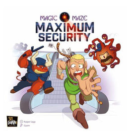 Dude Games Magic Maze Maximum Security