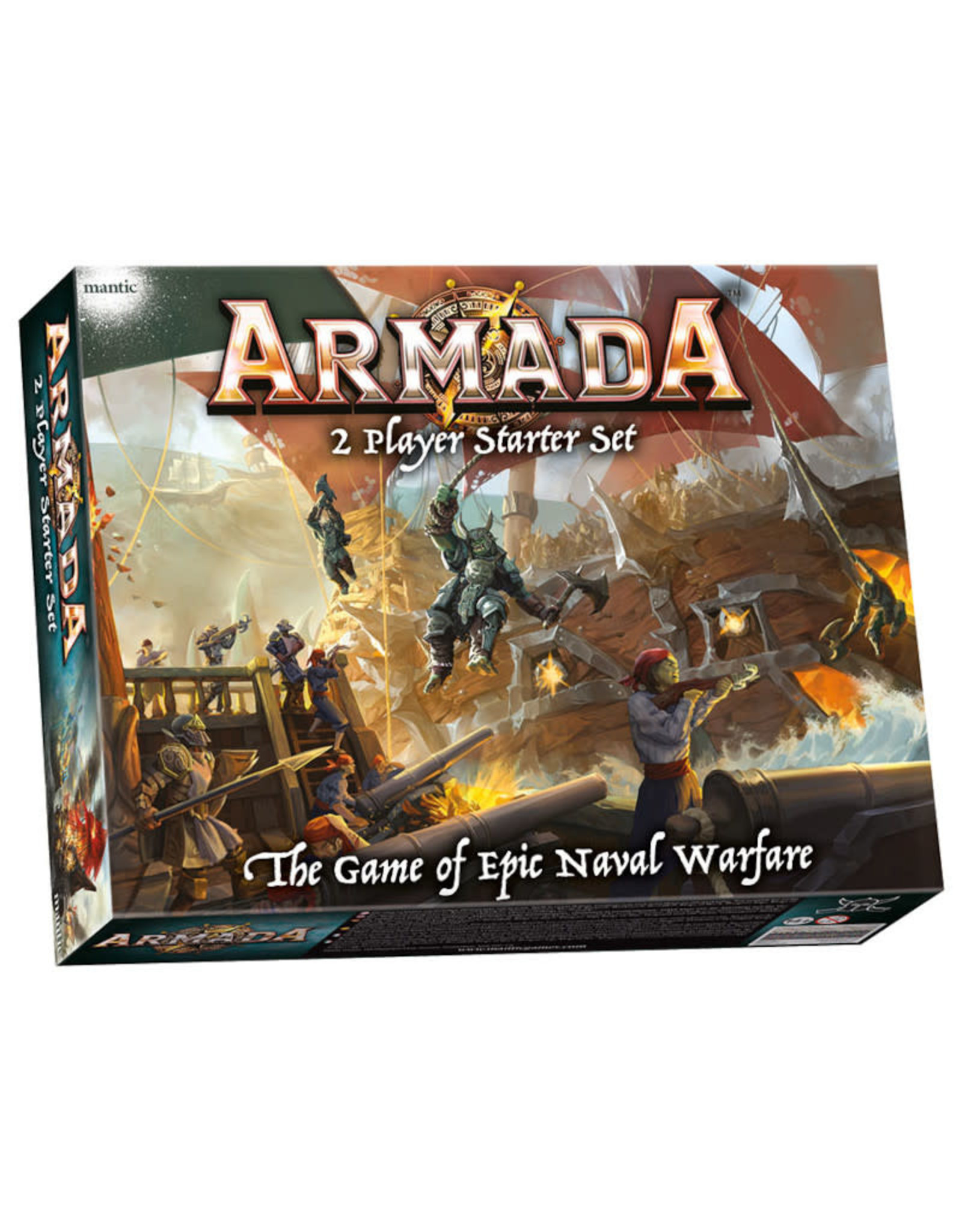 Miscellaneous Armada Fantasy Warfare: Two Player Starter Set