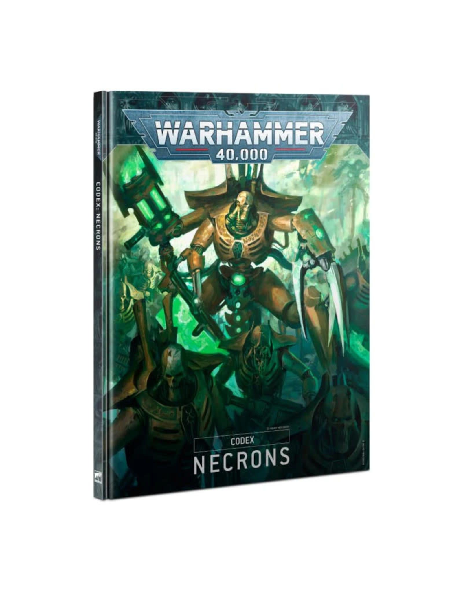 Games Workshop Warhammer 40K Codex Necrons