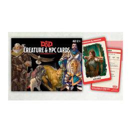 Gale Force 9 D&D RPG: Creatures & NPC Cards