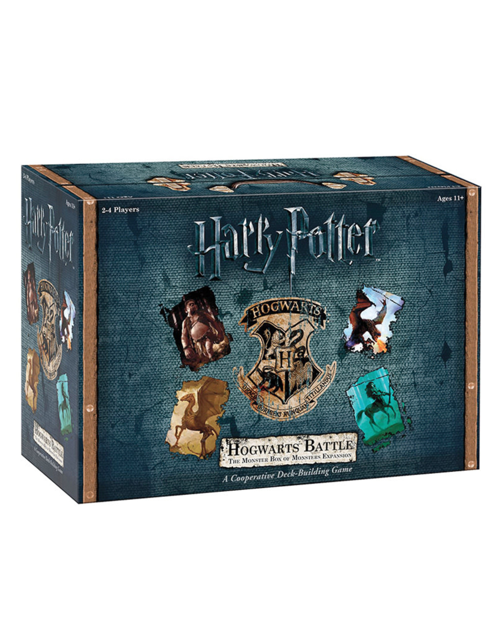 USAopoly Harry Potter Hogwarts Battles The Monster Box of Monsters Expansion