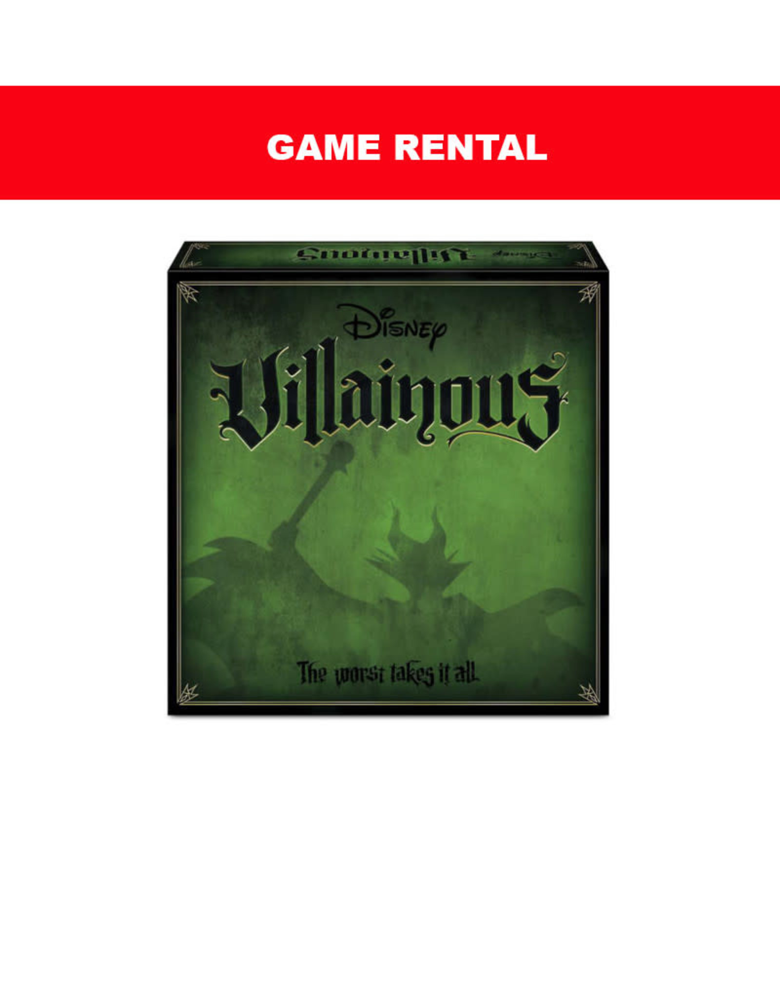 Ravensburger (RENT) Disney Villainous for a Day. Love It! Buy It!