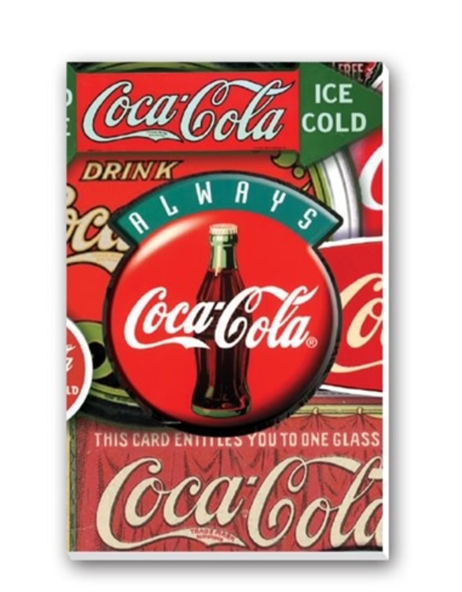 Springbok Bridge Score Pad Coca-Cola