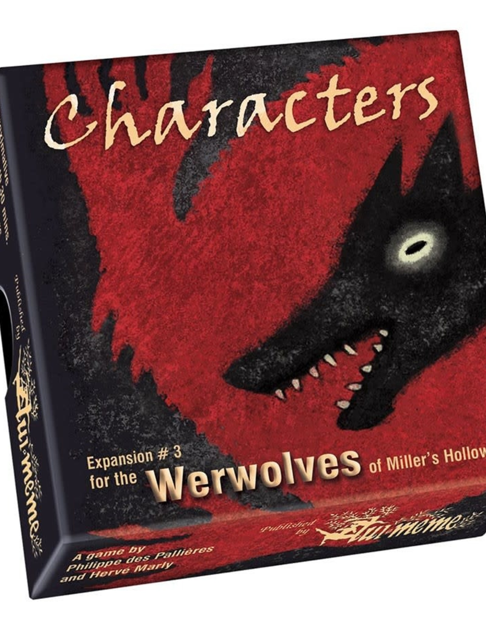 WEREWOLVES OF MILLERS HOLLOW CHARACTERS