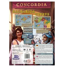 Rio Grande Games Concordia Balearica and Cyprus Expansion