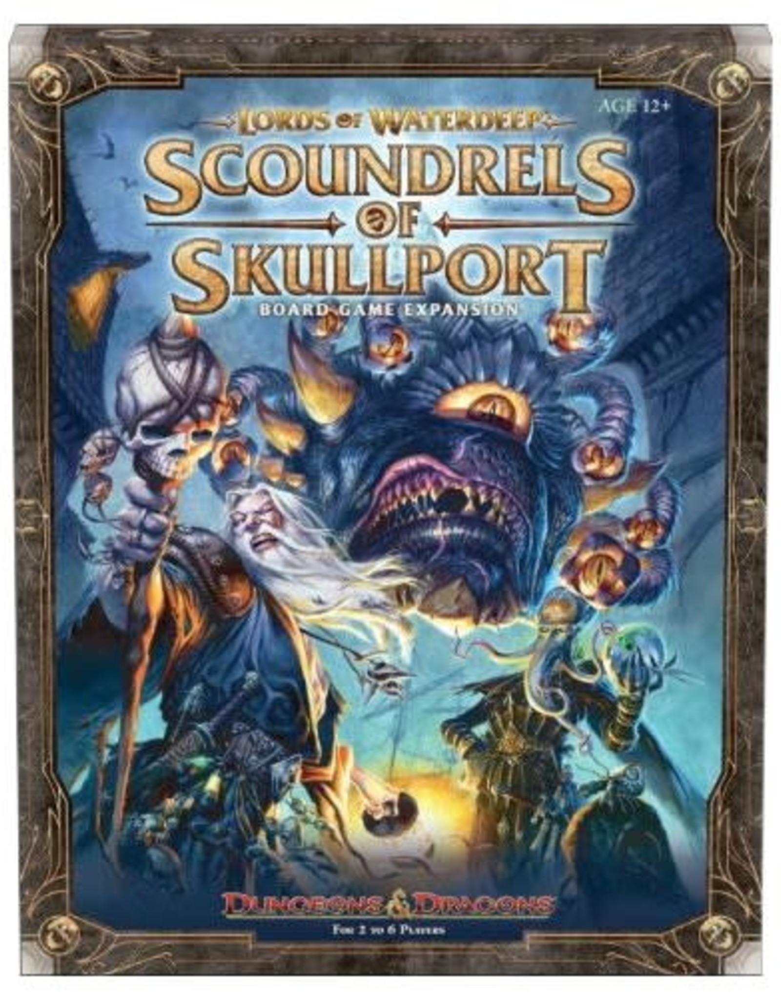 Wizards of the Coast D&D Lords of Waterdeep Scoundrels of Skullport Expansion